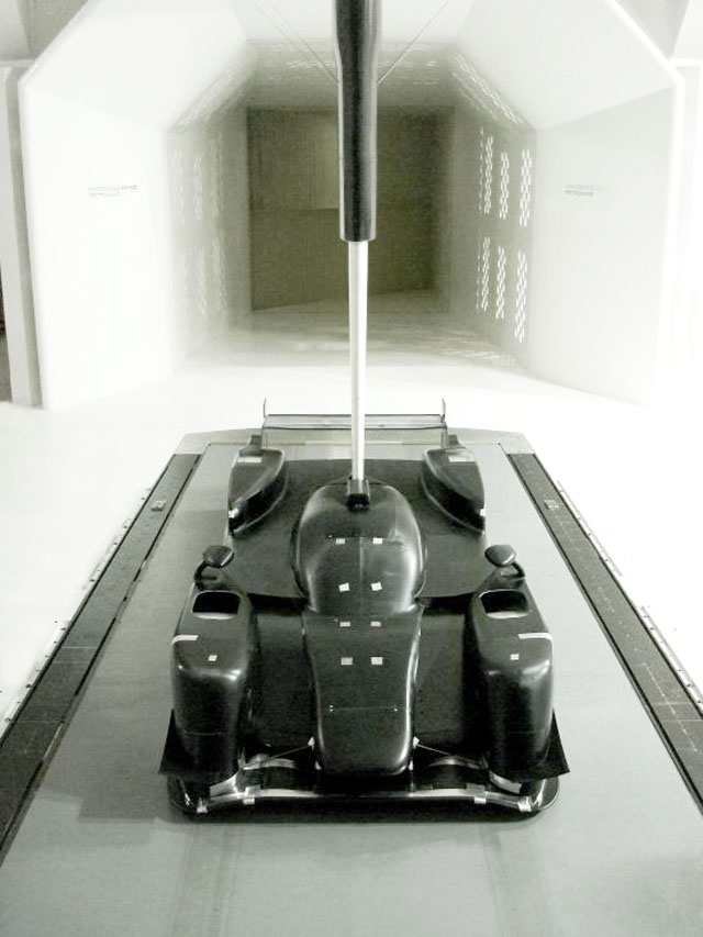 Lotus T128 wind tunnel
